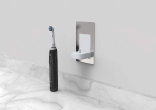 ProofVision Wall Mounted Electric Toothbrush  Charger